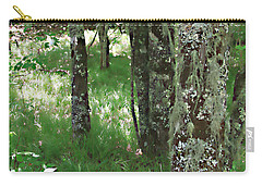Carry-all Pouch featuring the photograph Soft Trees by Shari Jardina