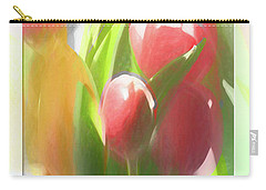 Soft Tulips Carry-all Pouch