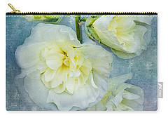 Carry-all Pouch featuring the photograph Softly In Blue by Betty LaRue