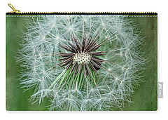 Carry-all Pouch featuring the photograph Softly Sitting by Jan Amiss Photography