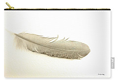 Softness Of A Feather Carry-all Pouch by Randi Grace Nilsberg