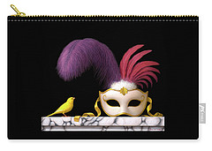 Venetian Mask Carry-All Pouches