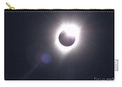 Solar Eclipse 2017 Lens Flare Carry-all Pouch
