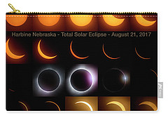 Solar Eclipse - August 21 2017 In Harbine Nebraska Carry-all Pouch