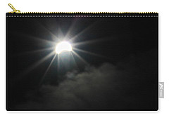 Solar Eclipse In The Clouds Carry-all Pouch
