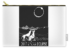 Solar Eclipse Carry-all Pouch