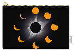 Solar Eclipse Stages Carry-all Pouch