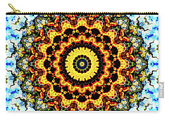 Carry-all Pouch featuring the digital art Solar Flare 2 by Wendy J St Christopher