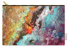 Solar Fusions Abstract Painting.  Carry-all Pouch