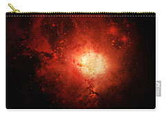 Carry-all Pouch featuring the photograph Solar Inferno by Cynthia Lassiter
