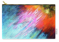 Solar Vibrations. Acrylic Abstract Painting Carry-all Pouch