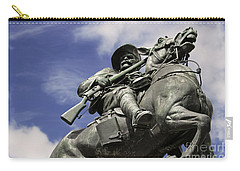 Soldier In The Boer War Carry-all Pouch