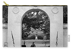 Soldiers Memorial Gate, Brown University, 1972 Carry-all Pouch
