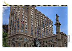 Soldiers Monument In Penn Square In Lancaster Carry-all Pouch