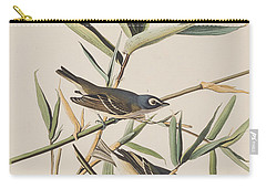 Solitary Flycatcher Or Vireo Carry-all Pouch