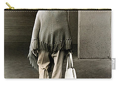 Solitary Lady Carry-all Pouch by Don Gradner