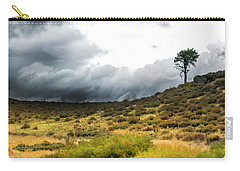 Carry-all Pouch featuring the photograph Solitary Pine by Frank Wilson