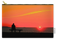 Solitude At Sunrise Carry-all Pouch