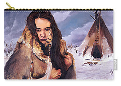 Solitude Carry-all Pouch by J W Baker