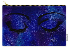 Carry-all Pouch featuring the painting Solitude by Michal Madison