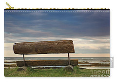 Carry-all Pouch featuring the photograph Solitude.. by Nina Stavlund