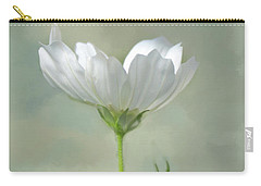 Carry-all Pouch featuring the photograph Solo Cosmo by Ann Bridges