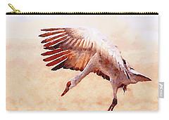 Solo Sandhill Crane Carry-all Pouch