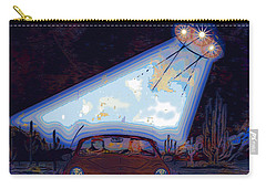 Some Enchanted Evening-retro Romance Carry-all Pouch