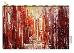 Carry-all Pouch featuring the painting Some Golden Day by Tatiana Iliina