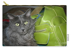 Someone Say Green? Carry-all Pouch by Marie Neder