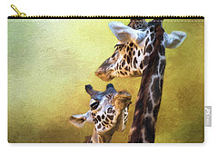 Carry-all Pouch featuring the photograph Someone To Look Up To - Wildlife Art by Jordan Blackstone