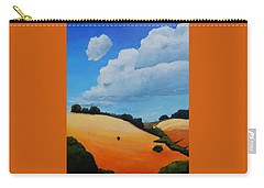 Something About Clouds, Panel 3 Carry-all Pouch