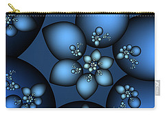 Fractal Carry-all Pouches