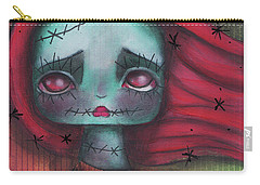 Something In The Wind Carry-all Pouch by Abril Andrade Griffith