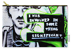 Carry-all Pouch featuring the photograph Something Significant by Art Block Collections