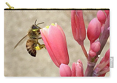 Something To Buzz About Carry-all Pouch by Russell Keating