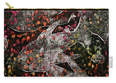 Carry-all Pouch featuring the mixed media Something's Fishy by Michele Myers