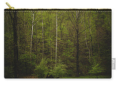 Carry-all Pouch featuring the photograph Somewhere In The Woods by Shane Holsclaw