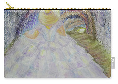 Carry-all Pouch featuring the painting Somewhere In Time by Lyric Lucas