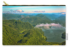 Carry-all Pouch featuring the photograph Over Alaska - June  by Madeline Ellis