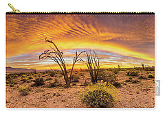 Somewhere Over Carry-all Pouch by Peter Tellone