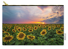 Carry-all Pouch featuring the photograph Somewhere Sunny  by Aaron J Groen