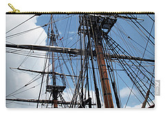 Son Of A Son Of A Sailor Quote - Tribute To The Bounty Carry-all Pouch by Joan  Minchak