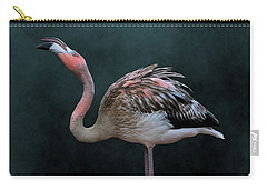 Song Of The Flamingo Carry-all Pouch