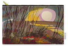 Carry-all Pouch featuring the painting Song To The Moon by John Williams