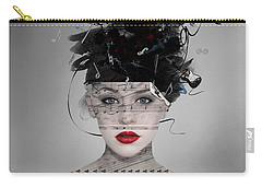 Carry-all Pouch featuring the digital art Songwriter by Nola Lee Kelsey