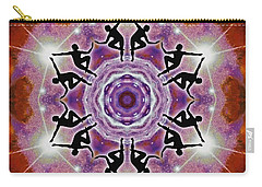 Carry-all Pouch featuring the digital art Sonic Galaxies by Derek Gedney