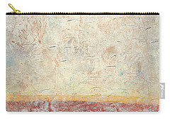 Sonoran Desert #2 Southwest Vertical Landscape Original Fine Art Acrylic On Canvas Carry-all Pouch