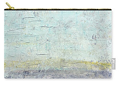 Sonoran Desert #3 Southwest Vertical Landscape Original Fine Art Acrylic On Canvas Carry-all Pouch