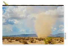 Sonoran Desert Dust Devil Carry-all Pouch